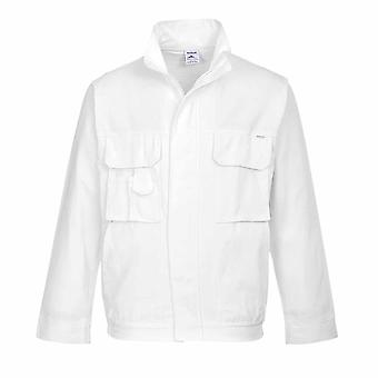 Portwest - veste Workwear pratique de peintres Durable absorbant 100 % coton