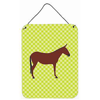 Bardot cheval âne vert mur ou porte accrocher impressions