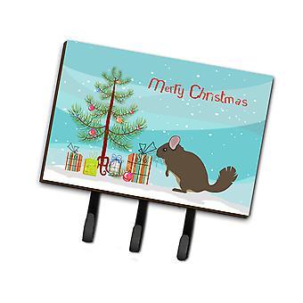 كارولين BB9242TH68 الكنوز شينشيلا عيد الميلاد المقود أو حائز المفتاح