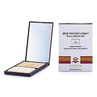 Sisley Phyto Teint Eclat Compact Foundation - # 1 Ivory - 10g/0.35oz