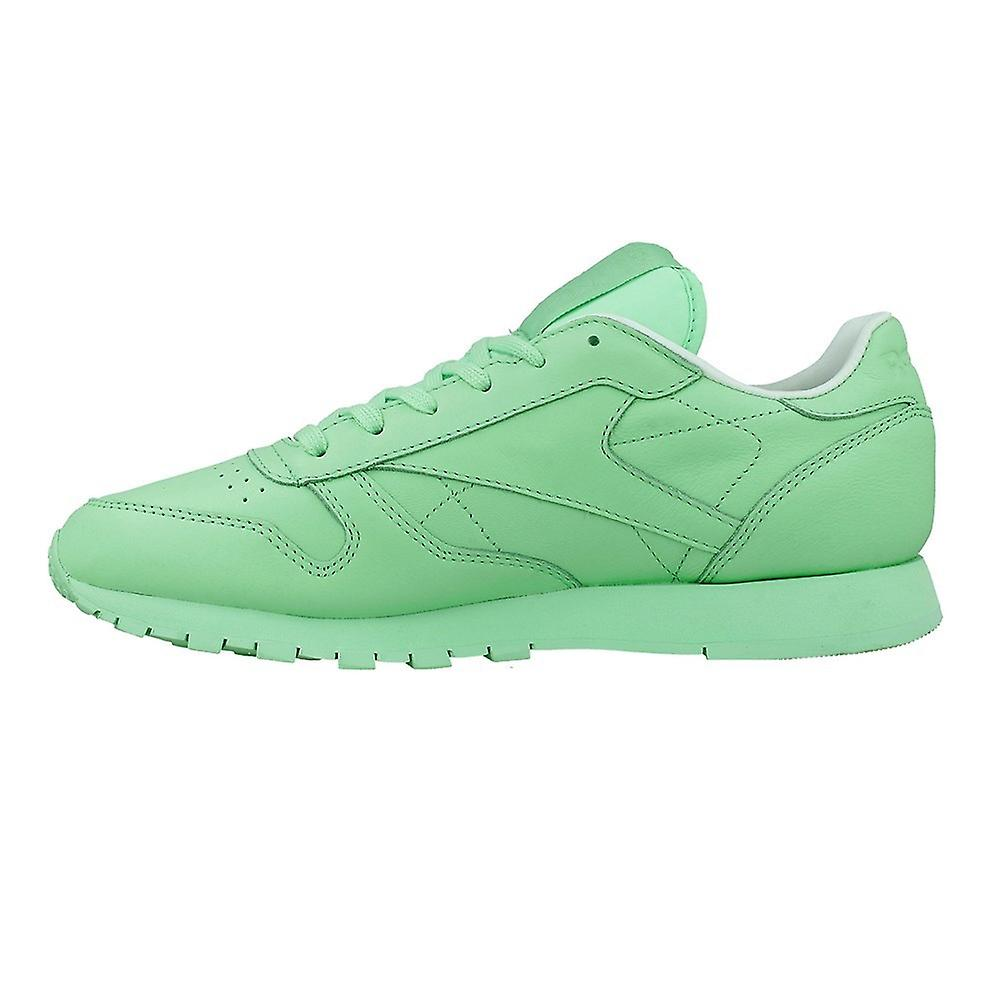 Reebok Classic Leather Pastels X Spirit Green BD2773 universal all year women shoes