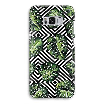 Samsung Galaxy S8 volledige Print geval (Glossy) - geometrische jungle