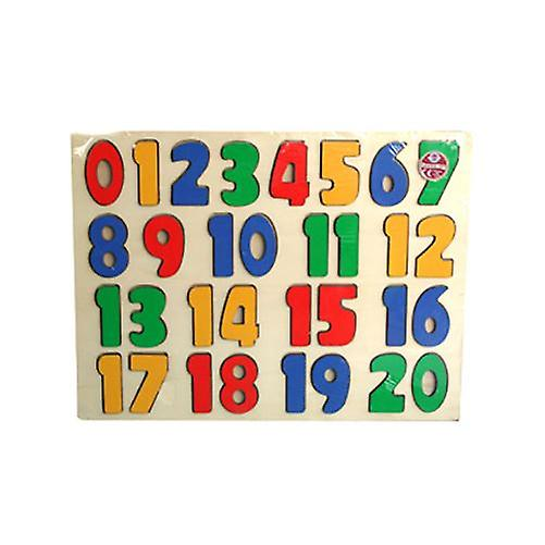 A to Z 123 Wood Puzzle