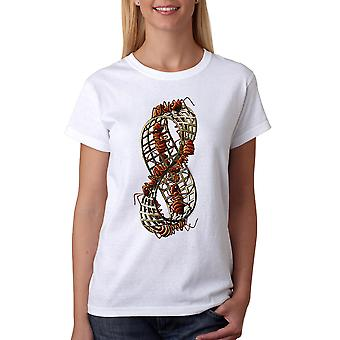 M.C. Escher Infinity Ants Women's White T-shirt