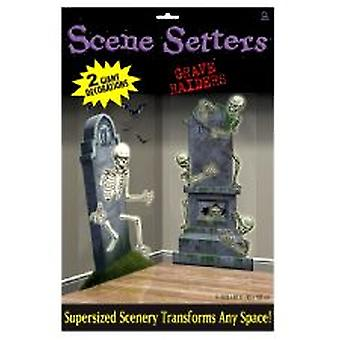 Graveyard scen Setter