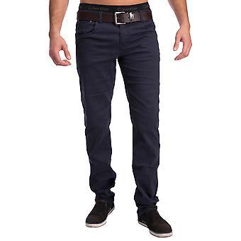 Чино mens 5-карманные джинсы Slim Fit брюки стрейч Декатур брюки конические