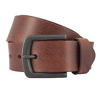 BERND GÖTZ Belt Men's Belt Leather Belt Leather Brown 2355