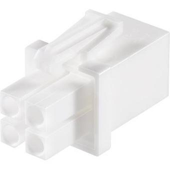 TE Connectivity Pin enclosure - cable Universal-MATE-N-LOK Total number of pins 6 Contact spacing: 4.14 mm 794895-1 1 pc(s)