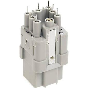 Harting 09 12 007 3101-1 Socket innsende Han® Q 7 + PE Krympe 1 stk(er)