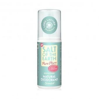 Salt Of The Earth - Pure Aura Melon & Cucumber Natural Deodorant Spray 100ml