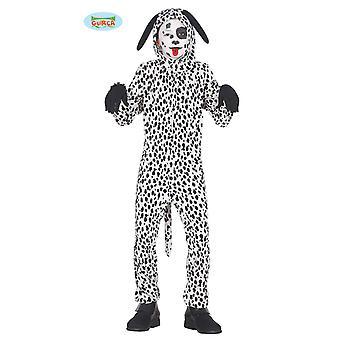 Guirca dalmatiner kostym för barn unisex TierKostüm hund hund kostym