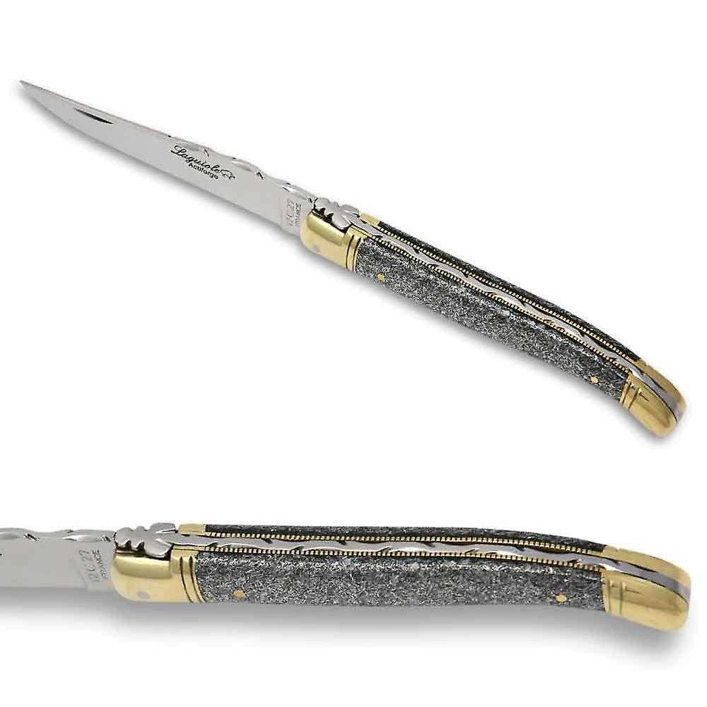 Laguiole knife with iron cristallium handle Direct from France