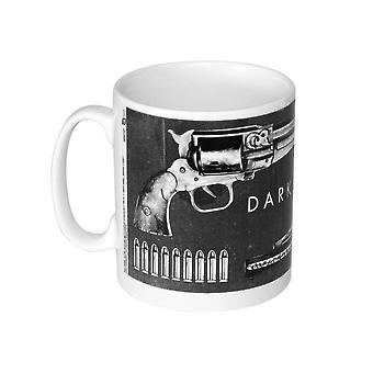De Dark Tower Cup Guns wit, bedrukt, gemaakt van keramiek, socket÷gen ca. 320 ml..