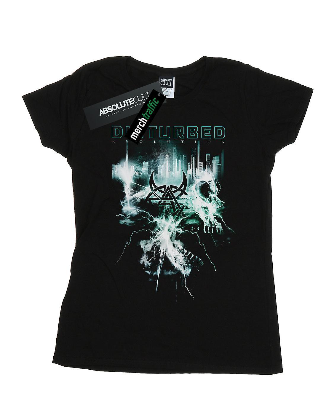 Disturbed Women's Evolution Apocalypse T-Shirt