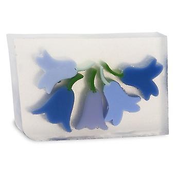 Primal Elements bar zeep blauwe klokken 170g