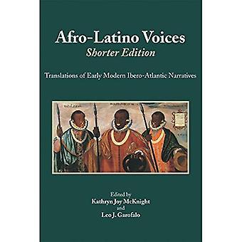 Afro-Latino Voices, Shorter Edition