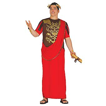 Mens Romeinse Senator Toga Fancy Dress kostuum