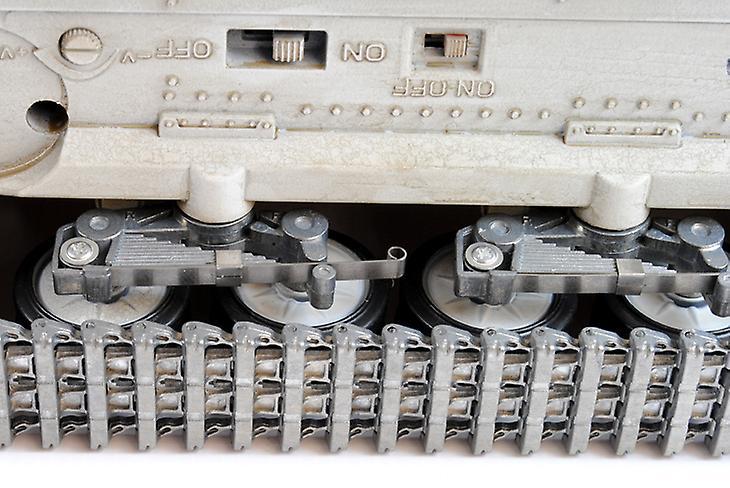 Taigen Hand Painted RC Tanks - Metal Upgrade - Panzer IV - 360 Turret
