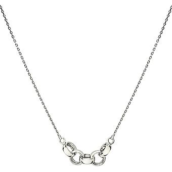 Bella 5 Link Necklace - Silver