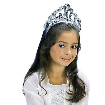 Tiara Sparkling Slvr Sequin For Children