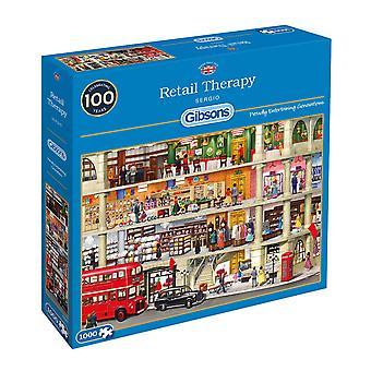 Gibsons detalicznej terapii Jigsaw Puzzle (1000 sztuk)