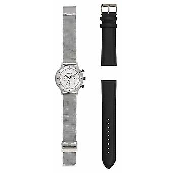 Breil | Gents Stainless Steel Mesh | Extra Leather Strap | TW1806 Watch