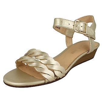 Дамы Clarks клина каблуках сандалии Мена Blossom