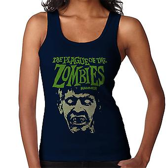 Hammer The Plague Of The Zombies Face Poster Women's Vest