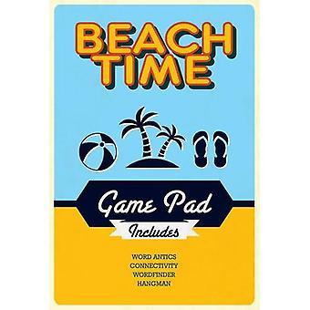 Beach Time Game Pad - 9781474838153 Book