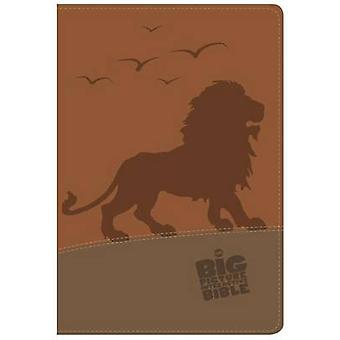 The CSB Big Picture Interactive Bible - Lion Leathertouch by Holman B