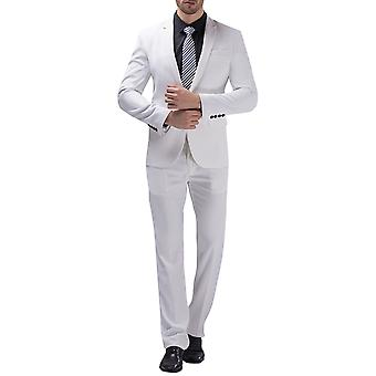 Allthemen Men's Suit Business Wedding 2-Pieces Suit Blazer&Pants 10 Colors