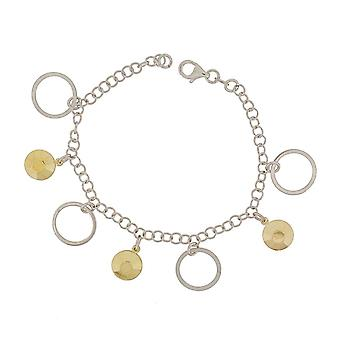 Bracelet 19 Cm Bicolor