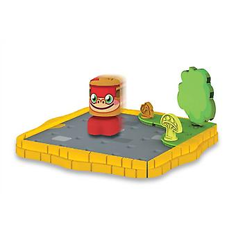 Moshi Monster Bobble Bots - Cobblestone Corner Starter Set With Chop Chop #02