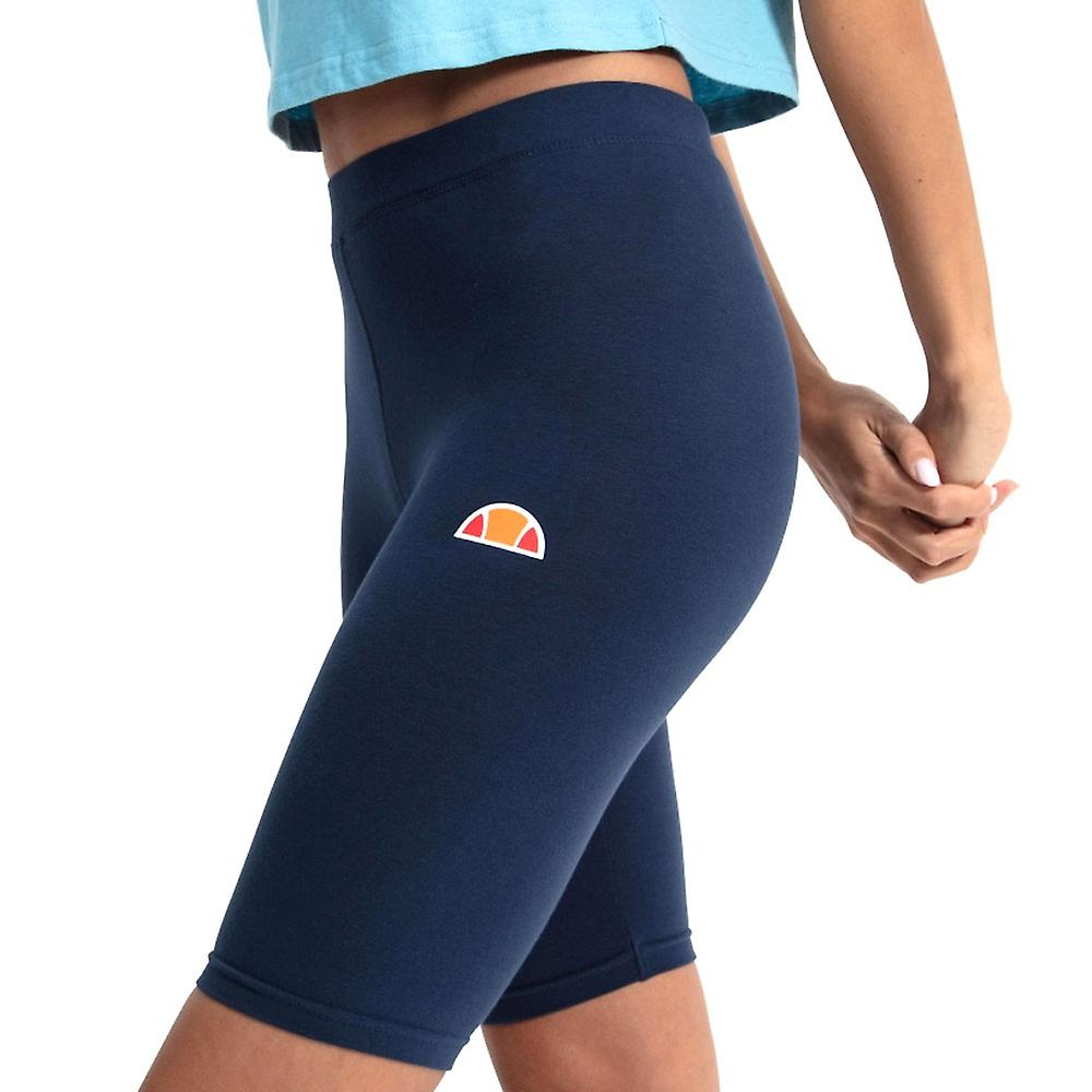 Ellesse Heritage Tour Womens Ladies Fitness Fashion Cycle Short Navy Blue