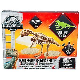 Jurassic World Duo dinosaurus opgraving Kit