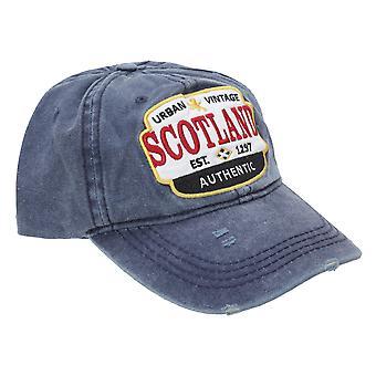 Scotland Unisex Adults Distressed Baseball Cap