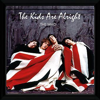 Il che The Kids Are Alright incorniciata Album Cover stampa 12x12in