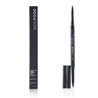 LashFood BrowFood Ultra Fine Brow Pencil Duo - # Charcoal 0.10g/0.0035oz