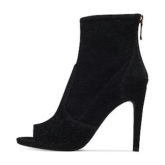 G by Guess Womens Bex Open Toe Ankle Fashion Boots