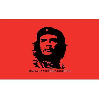 5ft x 3ft flagga-Che Guevara