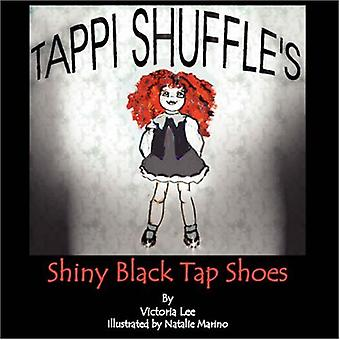 Tappi Shuffle-apos;s Shiny Black Tap Chaussures