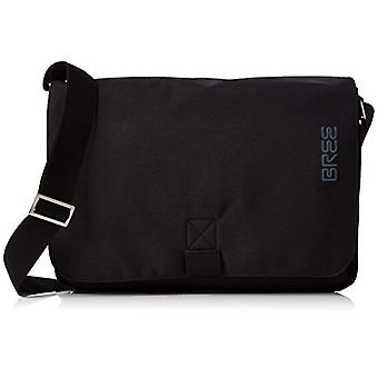 Bree Punch Style 62 Black Shoulder Bag - Unisex Adult Schwarz (Black) 8x24x34cm (B x H T)