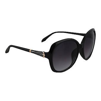 Zonnebril UV 400 Vierkant Zwart Wit2018_6