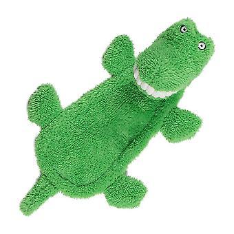 Animare i grandi denti ripieni testa coccodrillo squeaky giocattolo