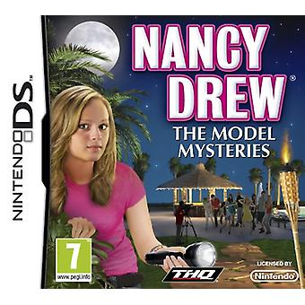 Nancy tegnede model mysterier (Nintendo DS)-fabriks forseglede