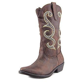 American Rag Womens Dawnn Fabric Pointed Toe Mid-Calf Cowboy Boots