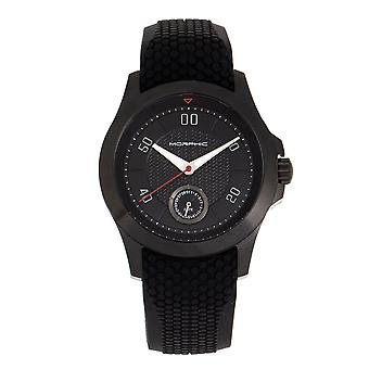 Morphic M80 Series Strap Watch w/Date - Or/Noir