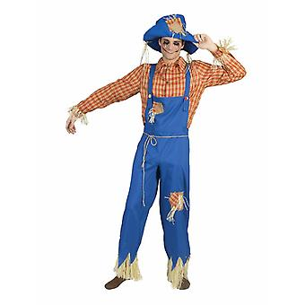 Scarecrow Men's Costume Straw Doll Thanksgiving Men's Costume