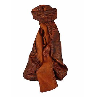 Mens Jamawar Premium Silk cachecol padrão 4739 por pashmina & Silk