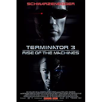 Terminator 3: Rise Of The Machines (Double Sided International) (High Gloss/Uv Coated) Original Cinema Poster